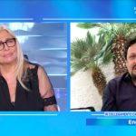 """Domenica In, Enrico Brignano a Venier: """"Non volevo fare un lutto nel lutto"""""""