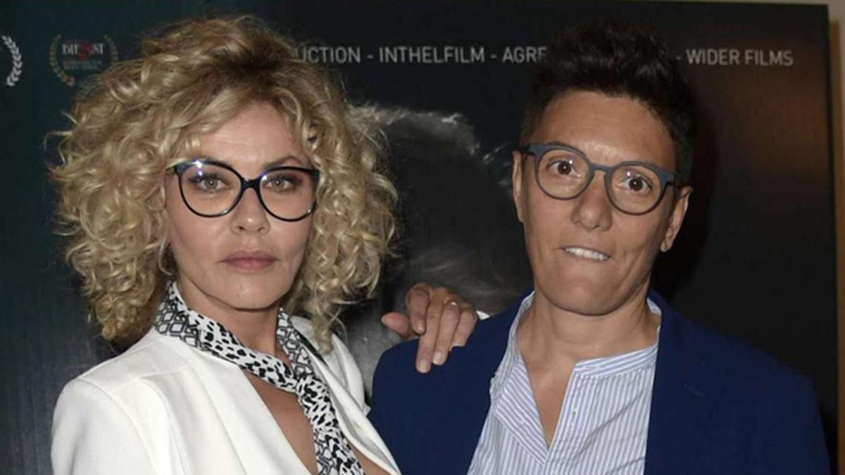 foto Eva Grimaldi e Imma Battaglia
