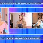 """Pomeriggio 5, Francesca Cipriani ipnotizzata da Giucas: """"Brutto momento"""""""