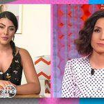 """Vieni da me, Giulia Salemi confessa a Caterina Balivo: """"L'ho denunciato"""""""