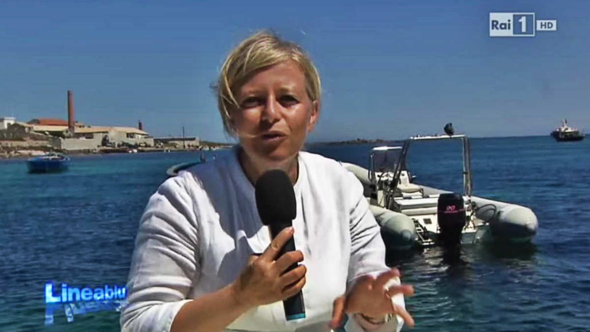foto linea blu Donatella Bianchi anticipazioni