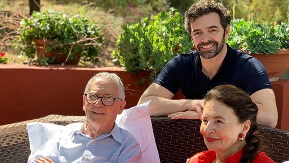 foto Alberto Matano genitori