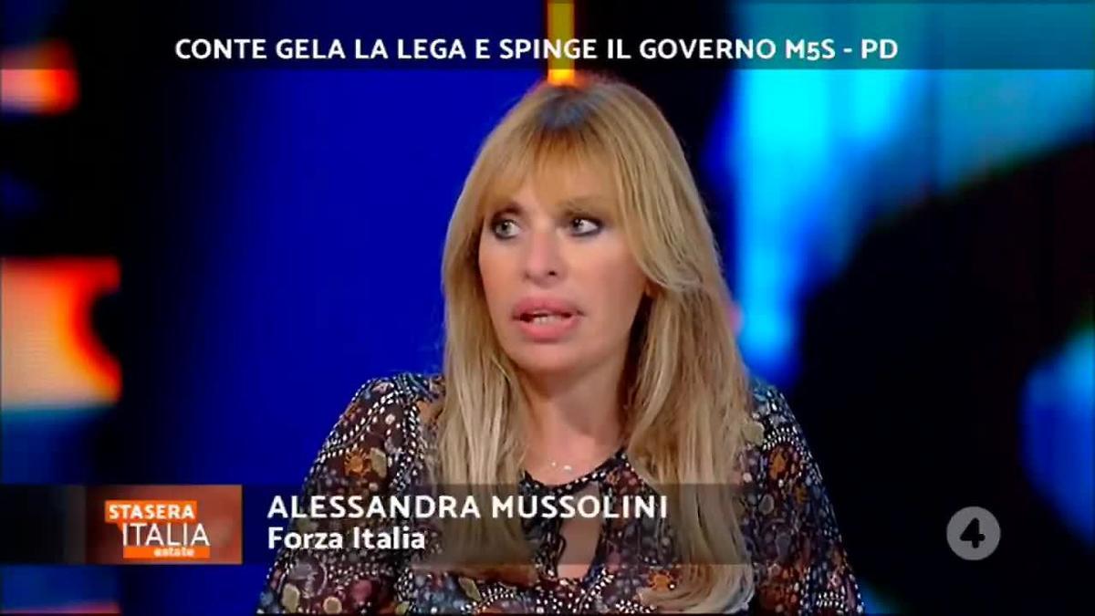 Alessandra Mussolini rifiuta un programma famosissimo: ecco il motivo
