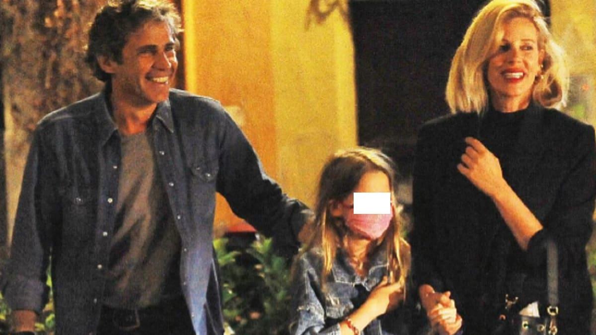 foto Alessia Marcuzzi marito e figlia