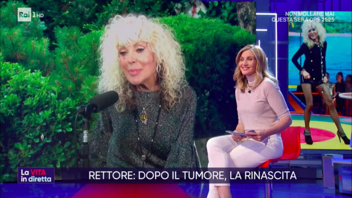 foto la vita in diretta Donatella Rettore Lorella Cuccarini