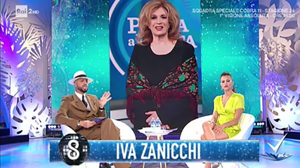 foto Iva Zanicchi a Detto Fatto