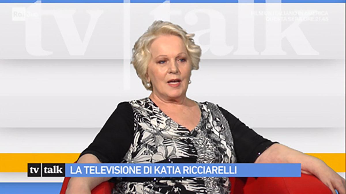 foto Katia Ricciarelli a Tv Talk