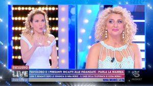 foto Loredana Fiorentino a Live Non è la D'Urso