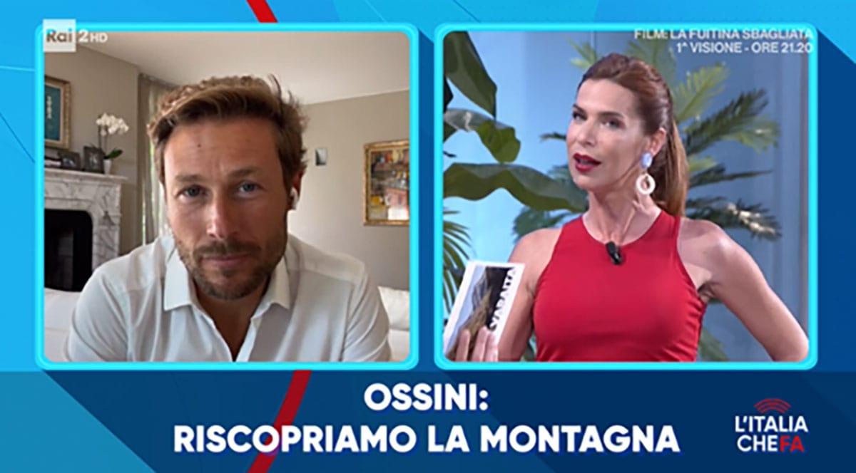 foto Massimiliano Ossini e Veronica Maya