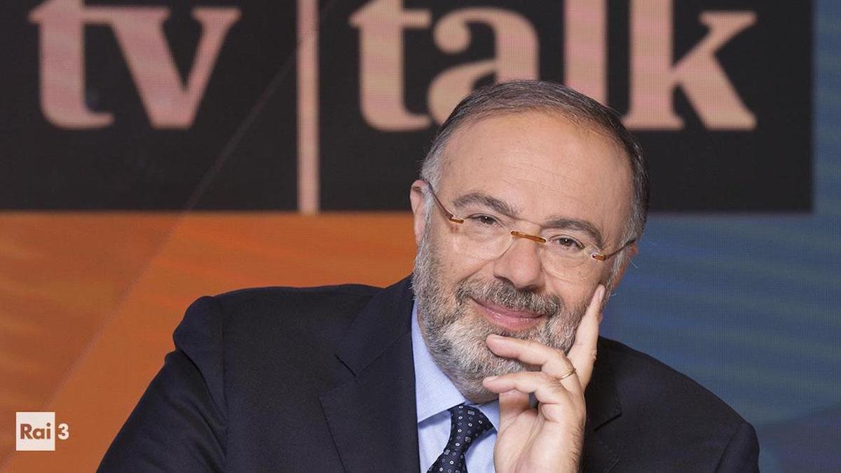 foto Massimo Bernardini a Tv Talk