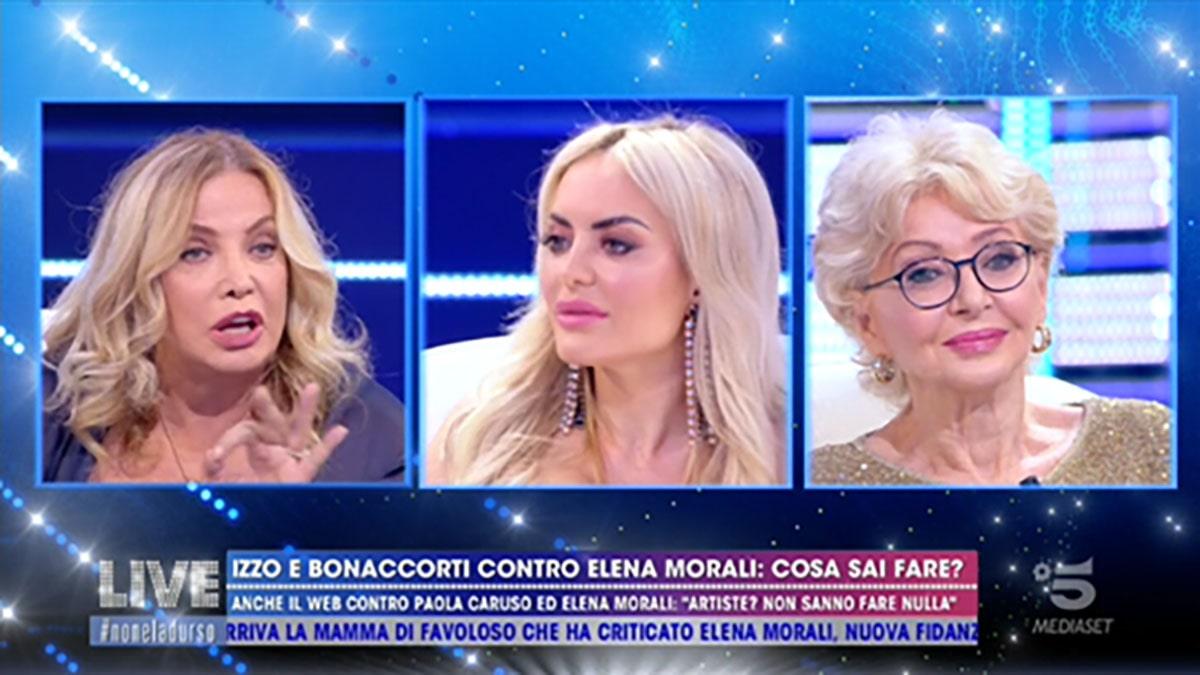 foto Simona Izzo Elena Morali Enrica Bonaccorti a Live