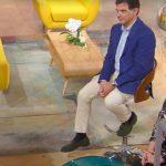 """Tiberio Timperi e Monica Setta, ospite fa una gaffe: """"Hai detto…"""""""