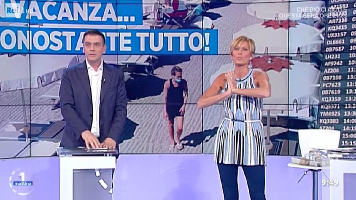 Foto Valentina Bisti appello Roberto Poletti