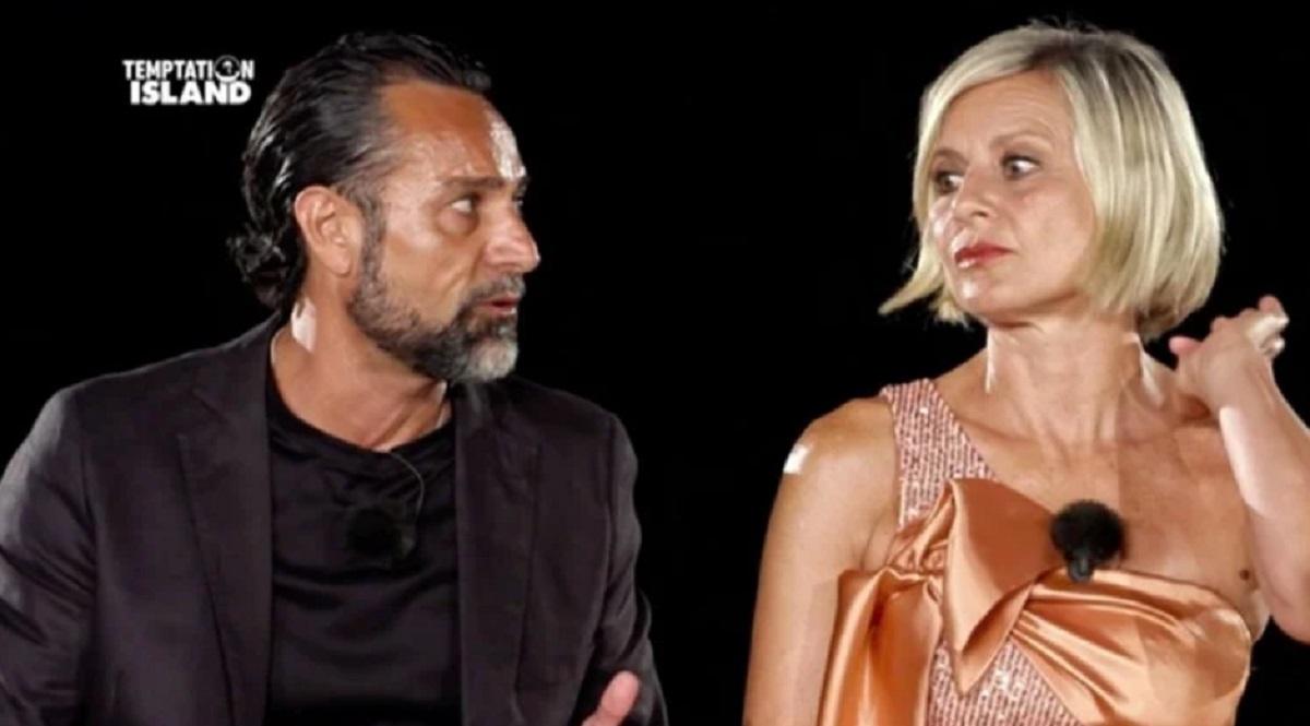 Foto Antonella Elia e Pietro Delle Piane Falò