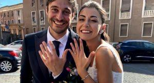 Foto Lino Guanciale matrimonio