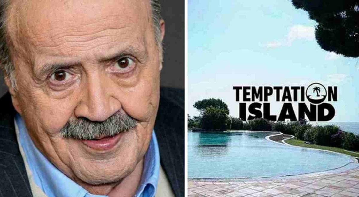 Foto Maurizio Costanzo Temptation Island