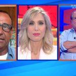 """Giancarlo Magalli battuta, Monica Marangoni glissa: """"Non ci interessa"""""""