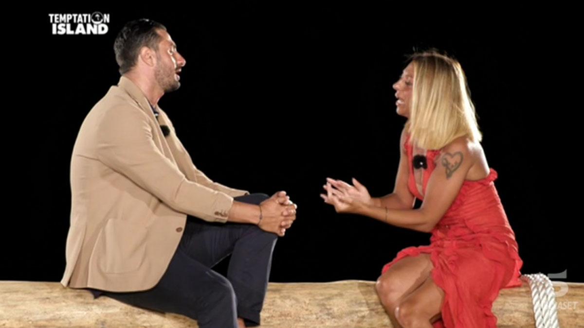 foto Antonio e Annamaria a Temptation Island