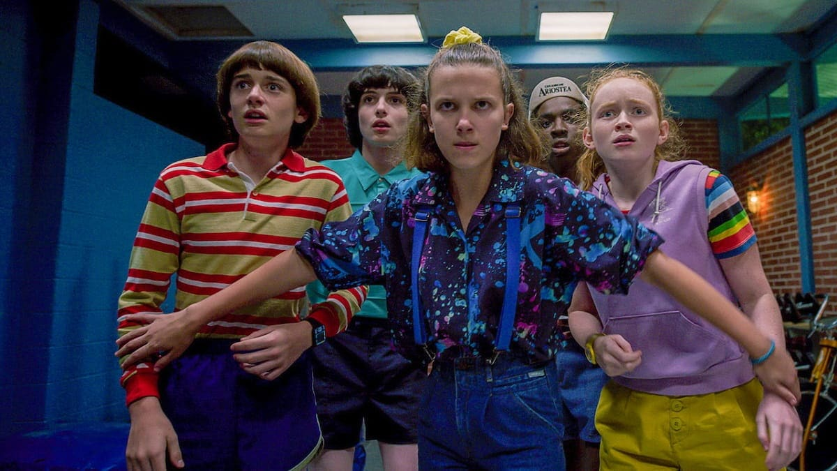 Foto Cast Stranger Things