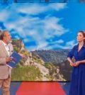 foto di Andrea Delogu e Marcello Masi a La vita in diretta Estate