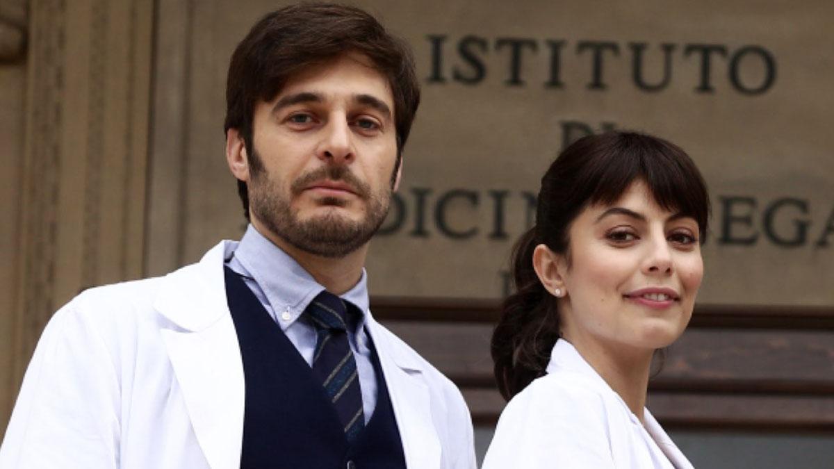 foto L'Allieva 3 Alessandra Mastronardi e Lino Guanciale