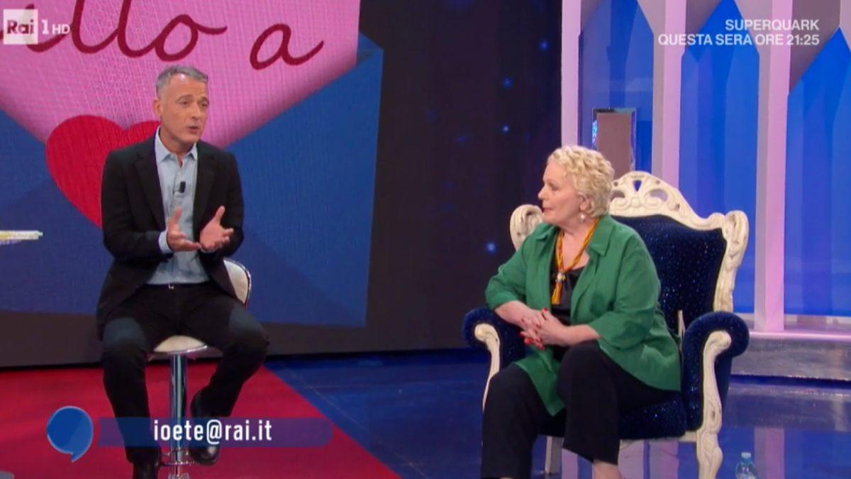 Pierluigi Diaco a Katia Ricciarelli: