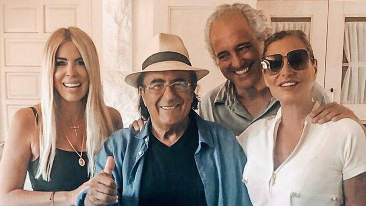 Loredana Lecciso alla tenuta di Al Bano con un'amica speciale