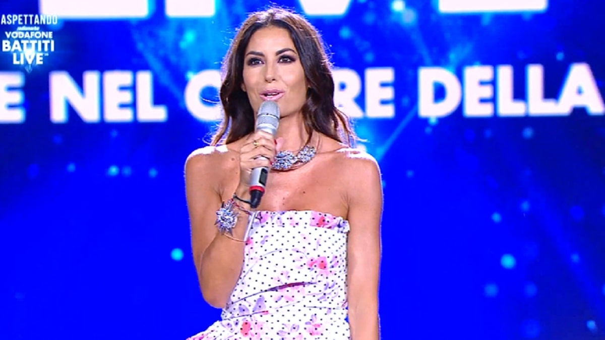 Foto Elisabetta Gregoraci Battiti Live 1° puntata