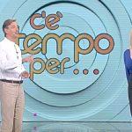 """C'è tempo per… Anna Falchi spiazza Convertini: """"Mi vedrete senza…"""""""