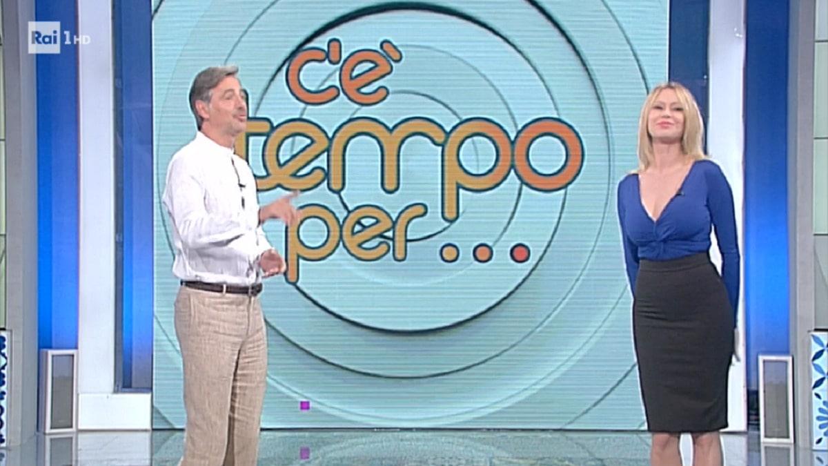 Anna Falchi Beppe Convertini