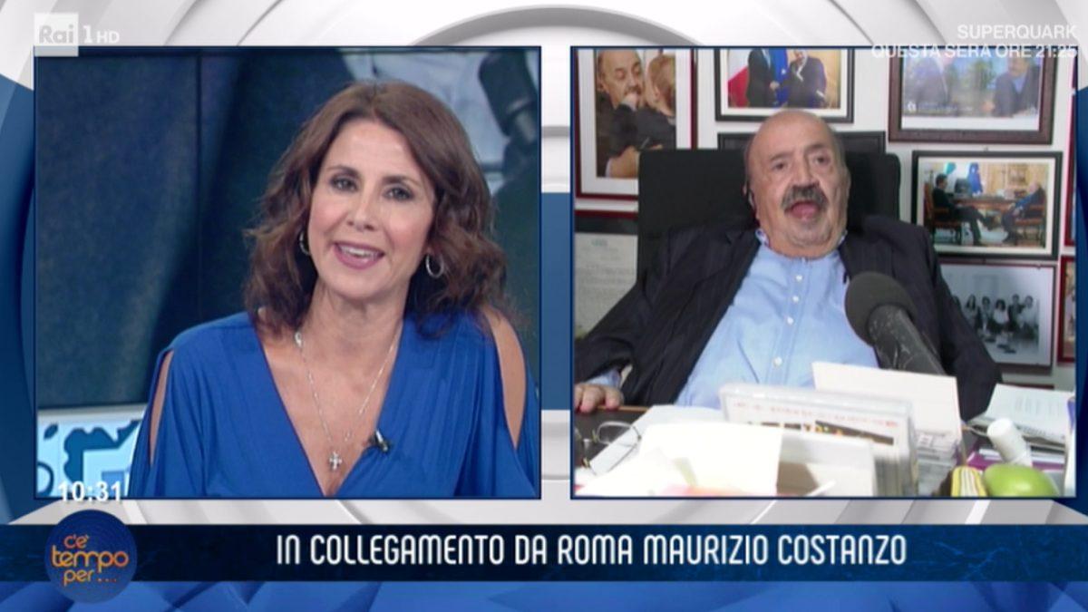 Maurizio Costanzo a 'C'è tempo per...':