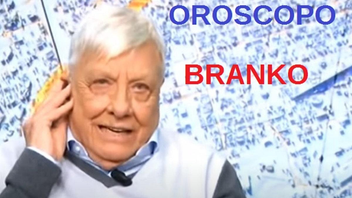 foto oroscopo Branko 10 settembre