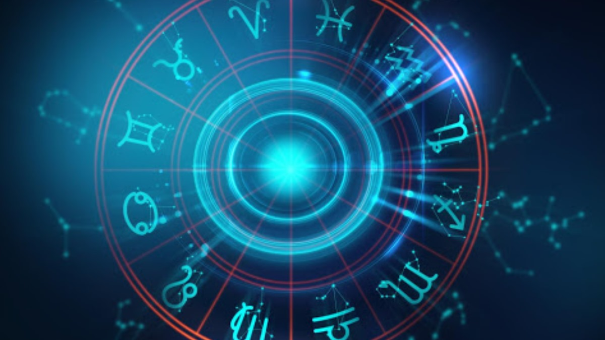 Foto Oroscopo cerchio blu rosso