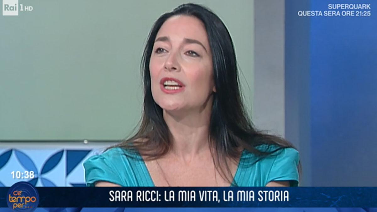foto Sara Ricci a C'è tempo per...