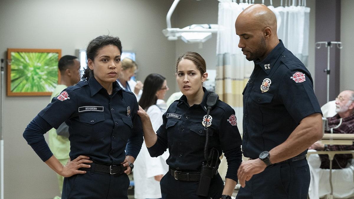 Foto Station 19 e Grey's Anatomy crossover