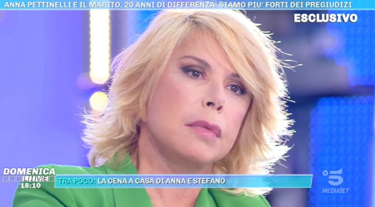 Foto Anna Pettinelli a Domenica Live