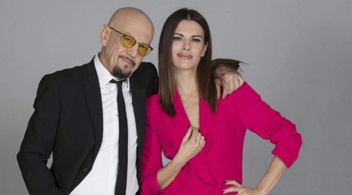Foto Enrico Ruggeri e Bianca Guaccero