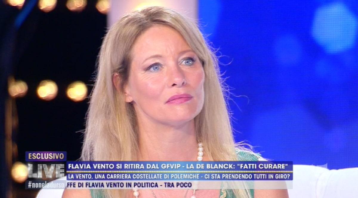 Flavia Vento Confessione Choc Live Non è la d'Urso