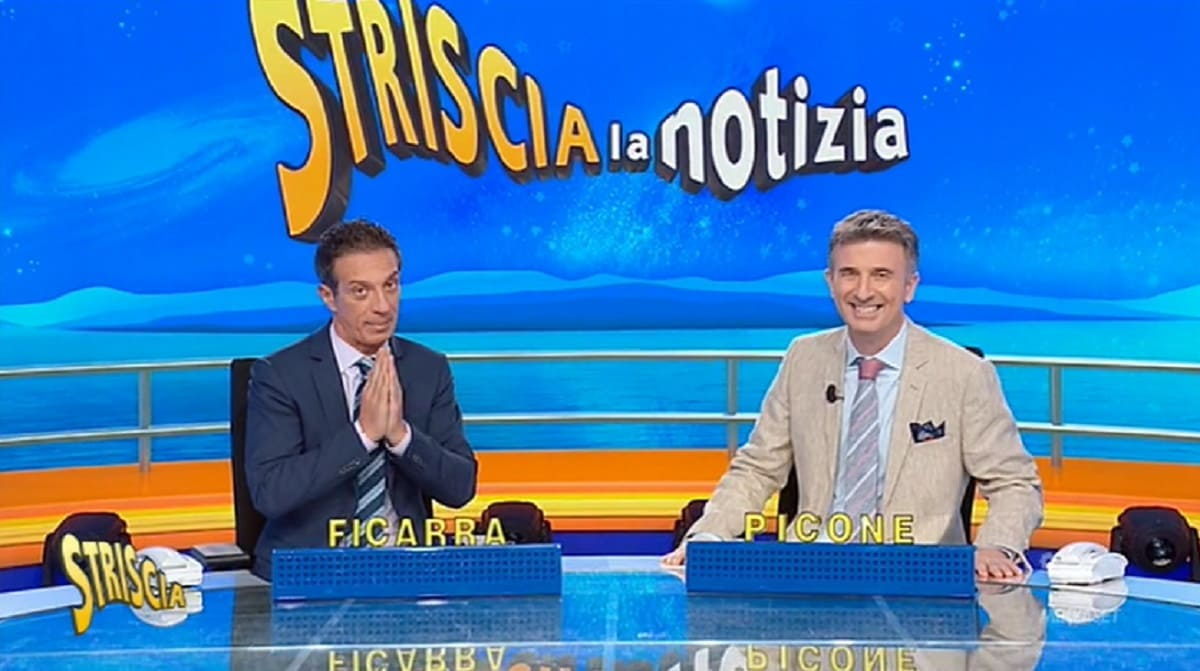 Foto Striscia La Notizia Fuorionda Barbara d'Urso