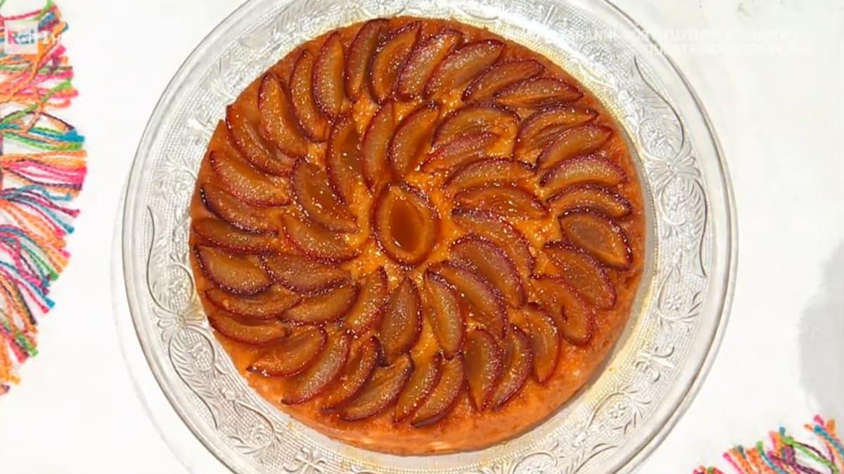 foto È sempre mezzogiorno torta rovesciata alle prugne