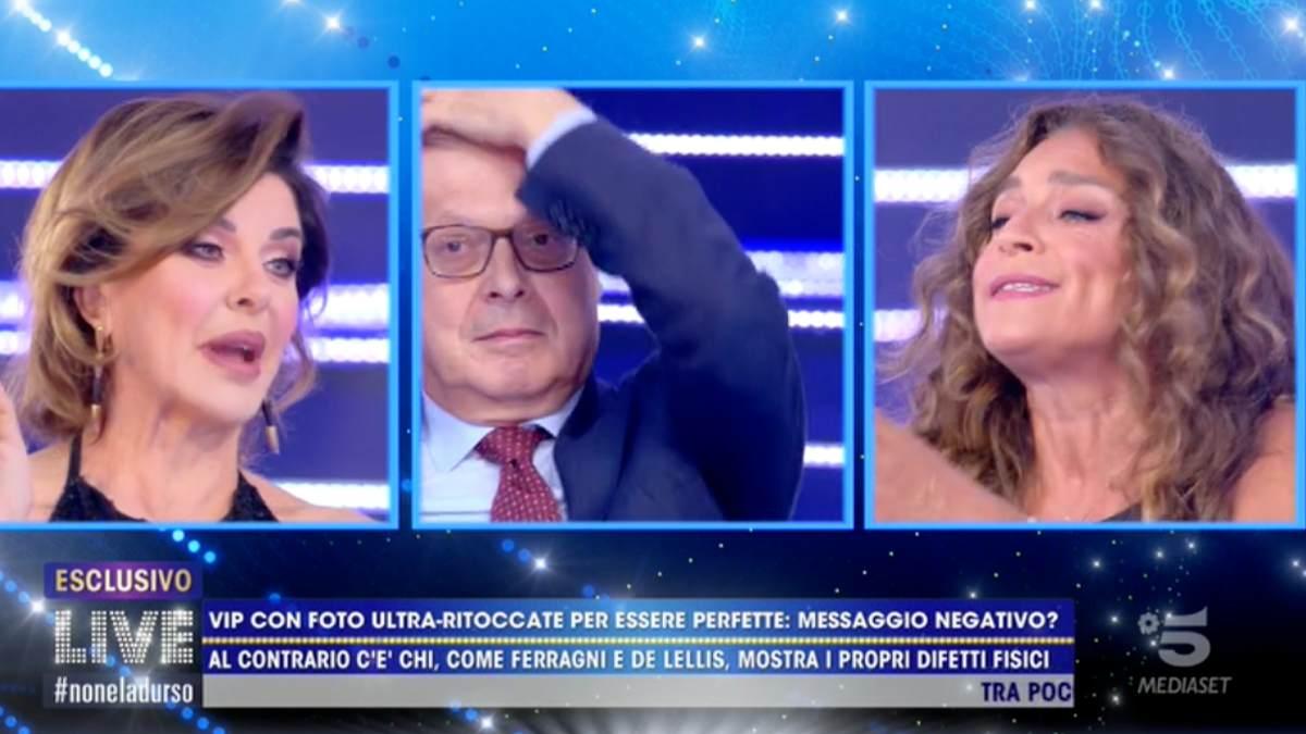 Foto Alba Parietti Caterina Collovati Live