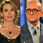 Alfonso Signorini e Barbara D'Urso hanno litigato di nuovo: il retroscena