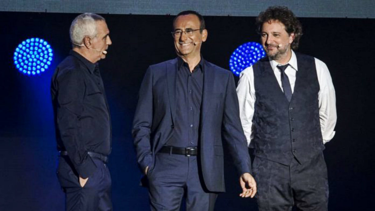 foto ascolti tv ieri rai Mediaset