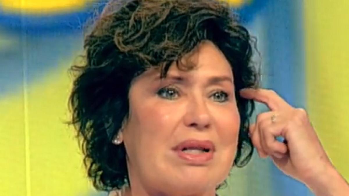 Anna Falchi, confessione a C'è tempo per…