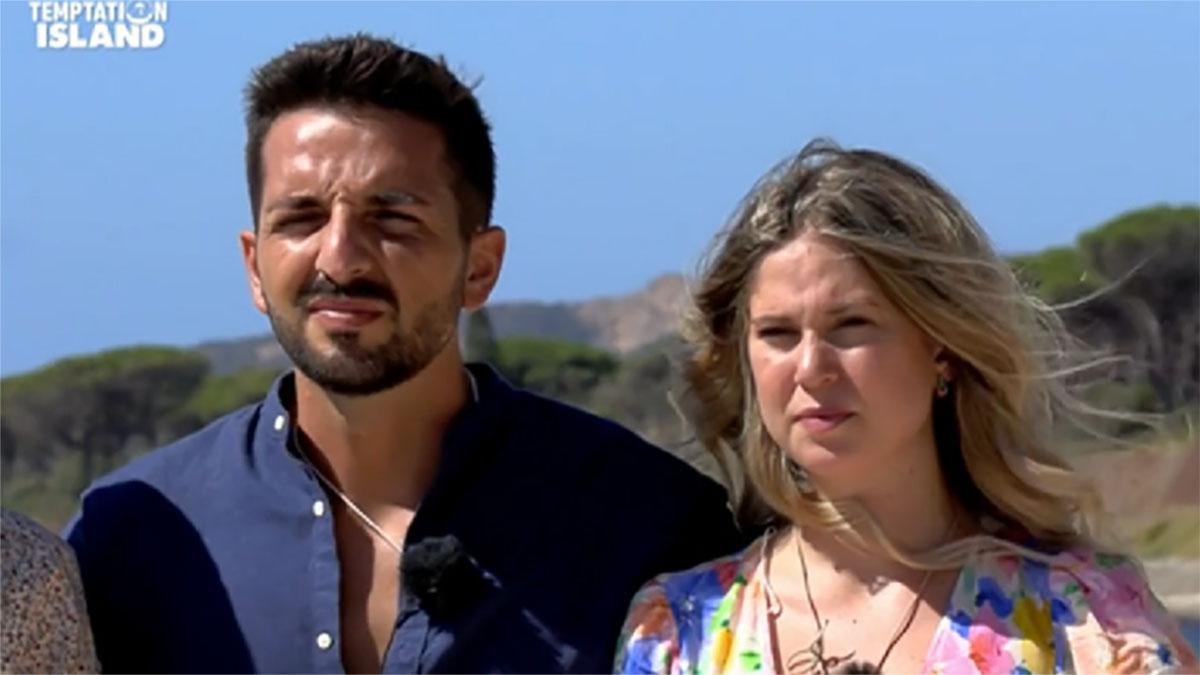 foto Davide e Serena a Temptation Island