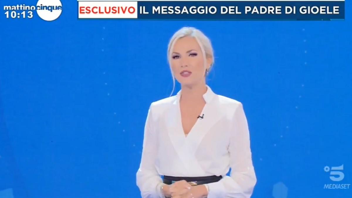 foto Federica Panicucci messaggio Daniele Mondello