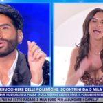 """Live, Antonella Mosetti contro Federico Fashion Style: """"Sei un bugiardo"""""""