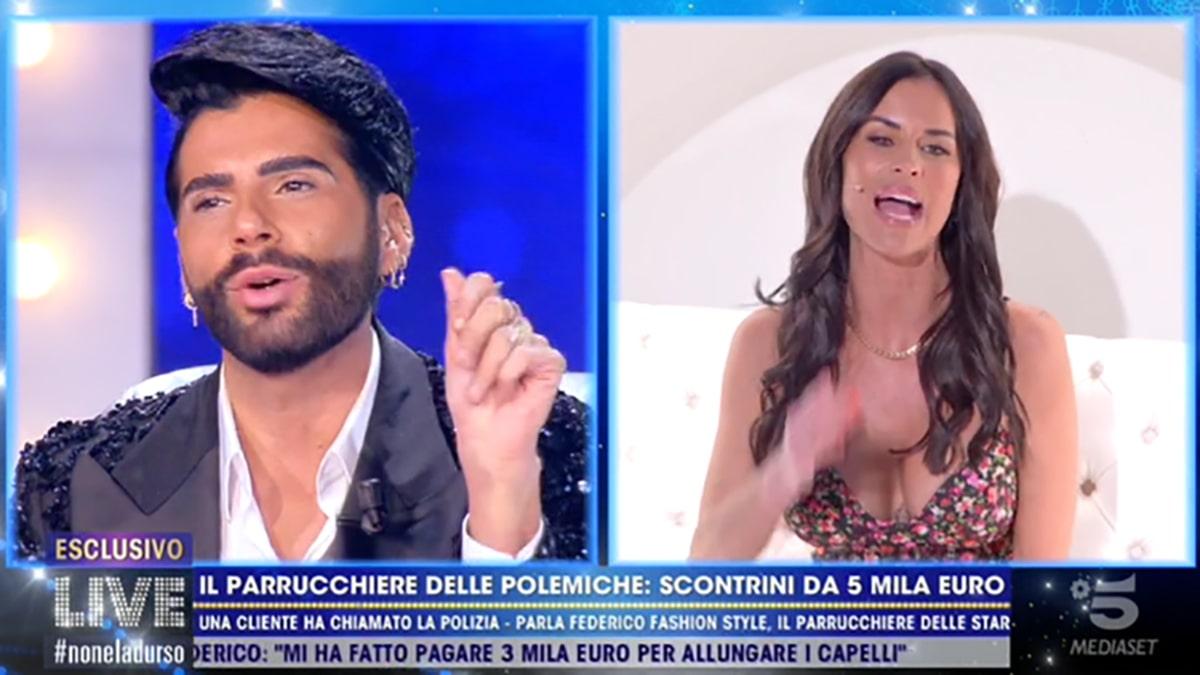 foto Federico Fashion Style Antonella Mosetti a Live