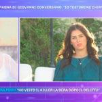 """Barbara D'Urso choc sulla fidanzata di Conversano: """"Ha visto il killer"""""""