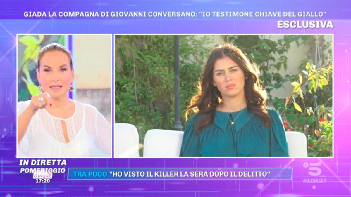 foto pomeriggio 5 fidanzata di conversano killer omicidio di Lecce